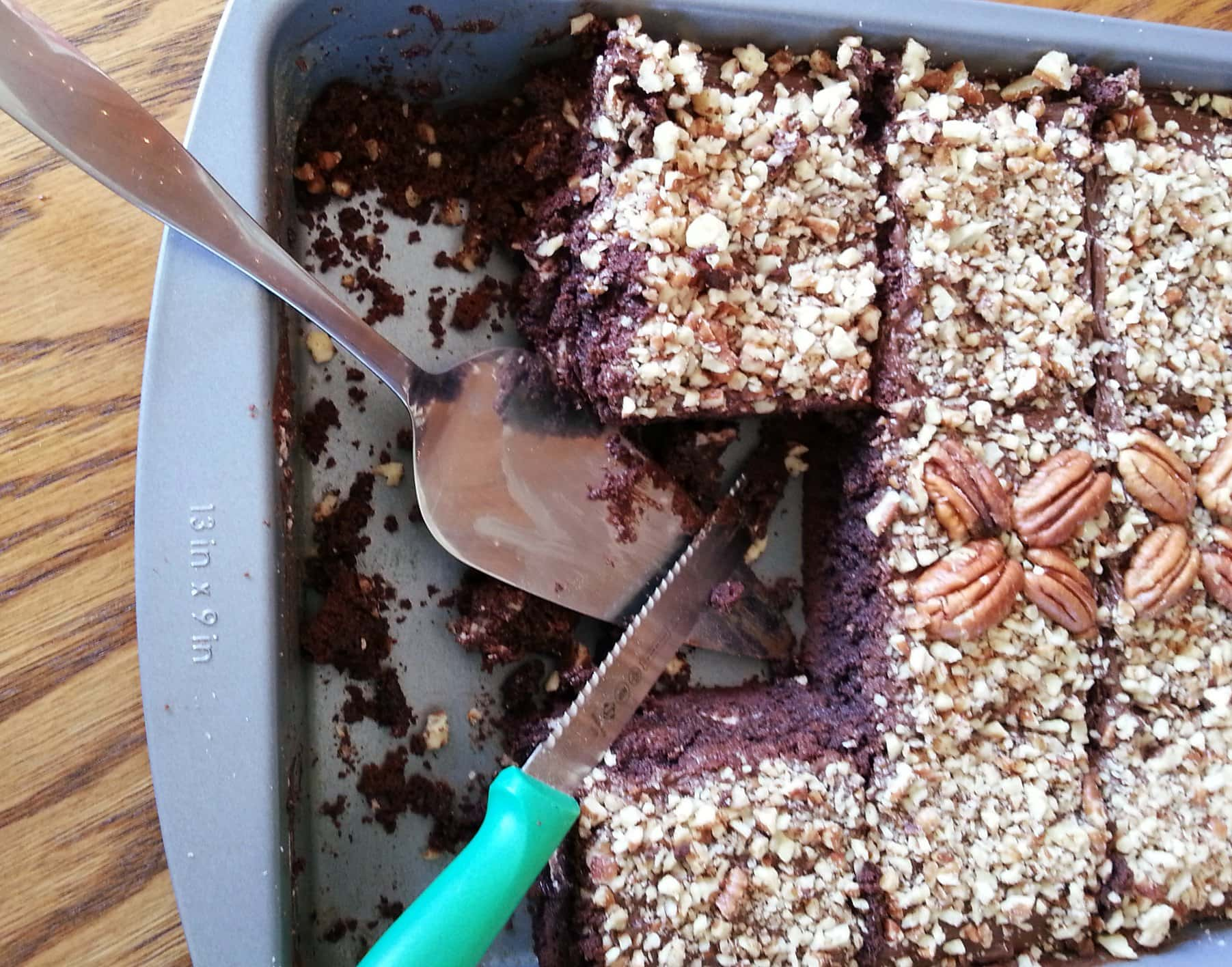 "Peppermint Pattie Pecan Brownies (""PPP Brownies""!)"