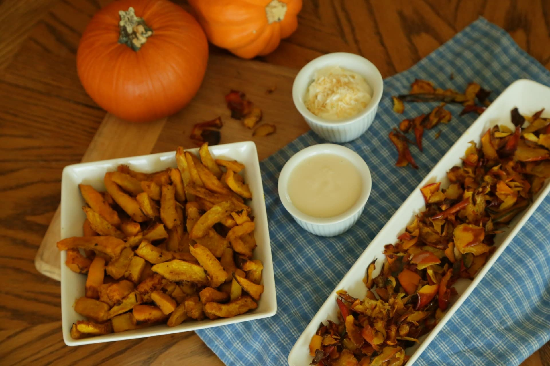 Pumpkin Fries (and Pumpkin Crisps!)