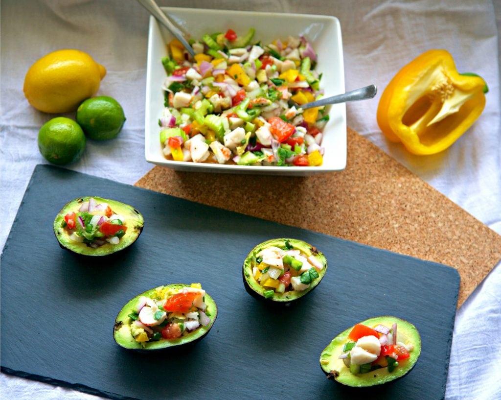 la-cooquette-lobster-ceviche-avocado-bowls-recipe-from-top