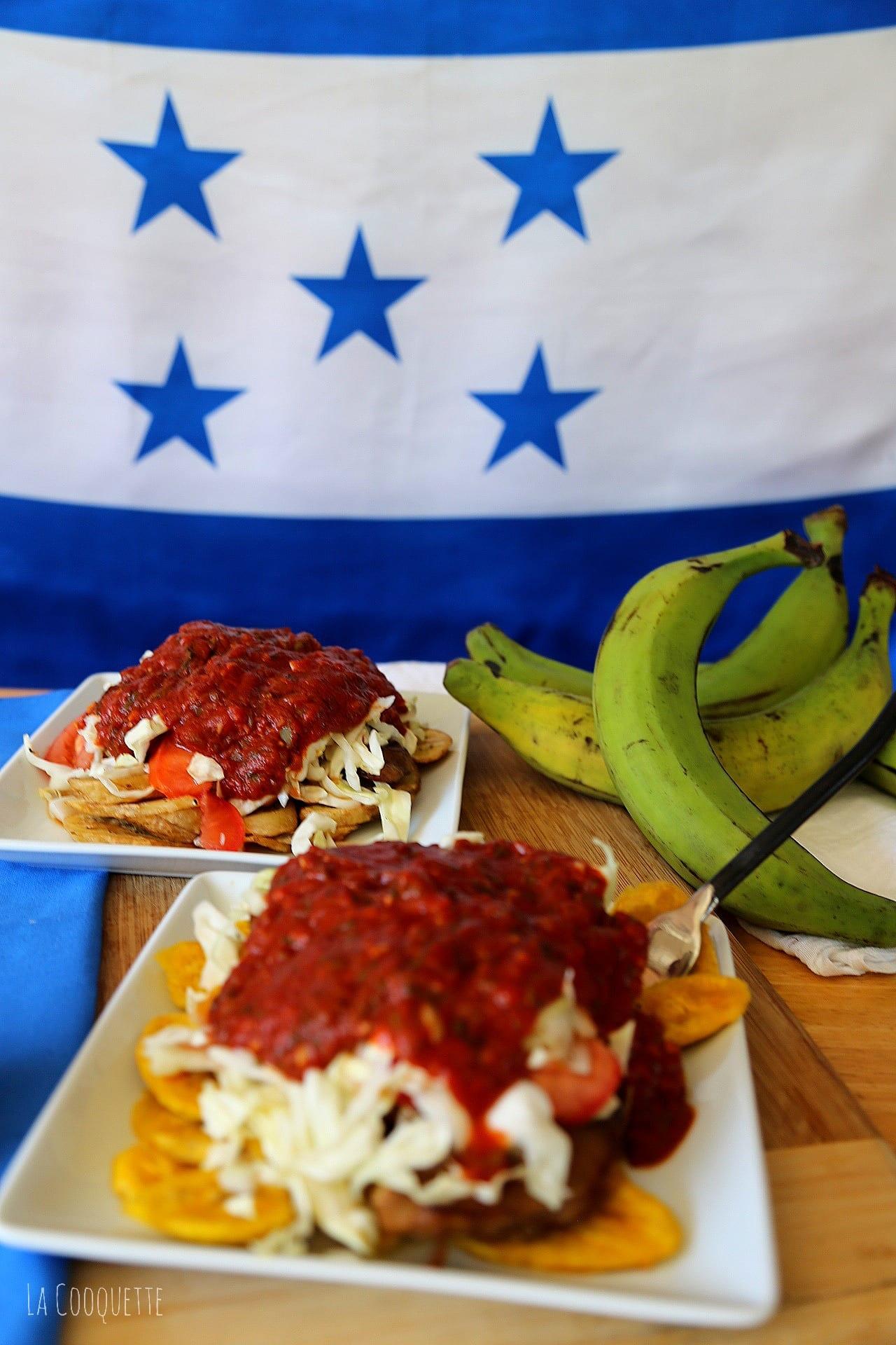 Chuleta con Tajadas – Receta Hondureña