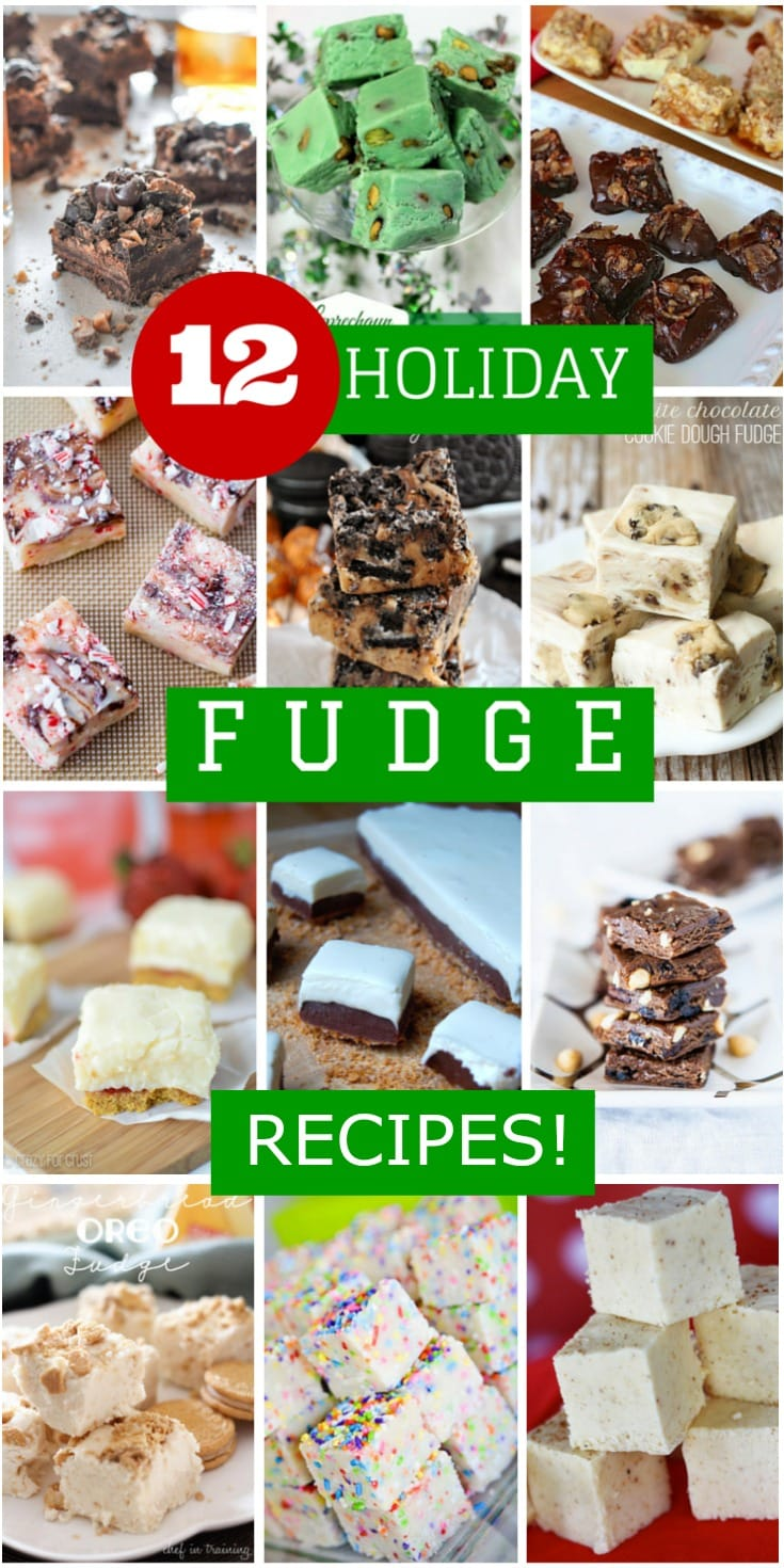 12 Holiday Fudge Recipes