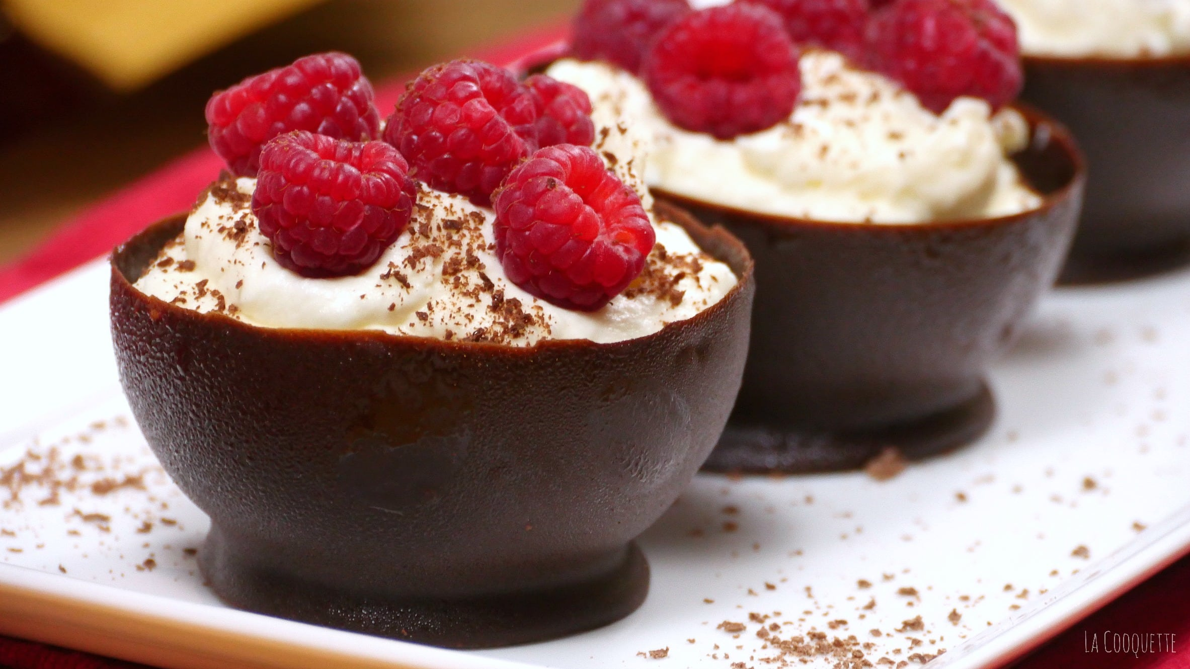 Valentines Day Breakfast La Cooquette Chocolate Mousse Cups