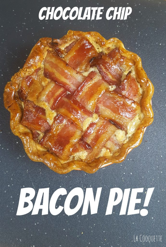 Chocolate Chip Bacon Pie for Pie Day (Pi Day) - La Cooquette