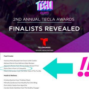 La Cooquette Maria Sierra - Tecla Awards