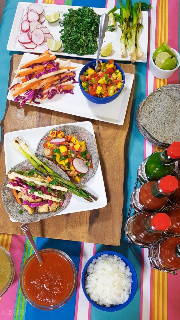 3 ways to spice up a taquiza #TaquizaTabasco - La Cooquette summer