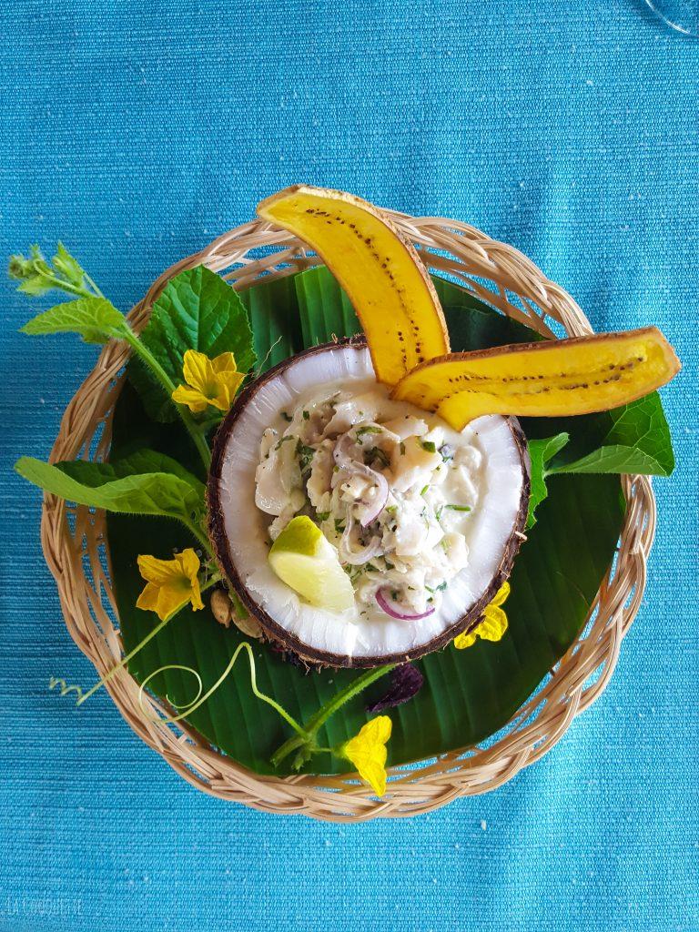 Honduran Heritage - Hispanic Heritage Month - La Cooquette - conch ceviche
