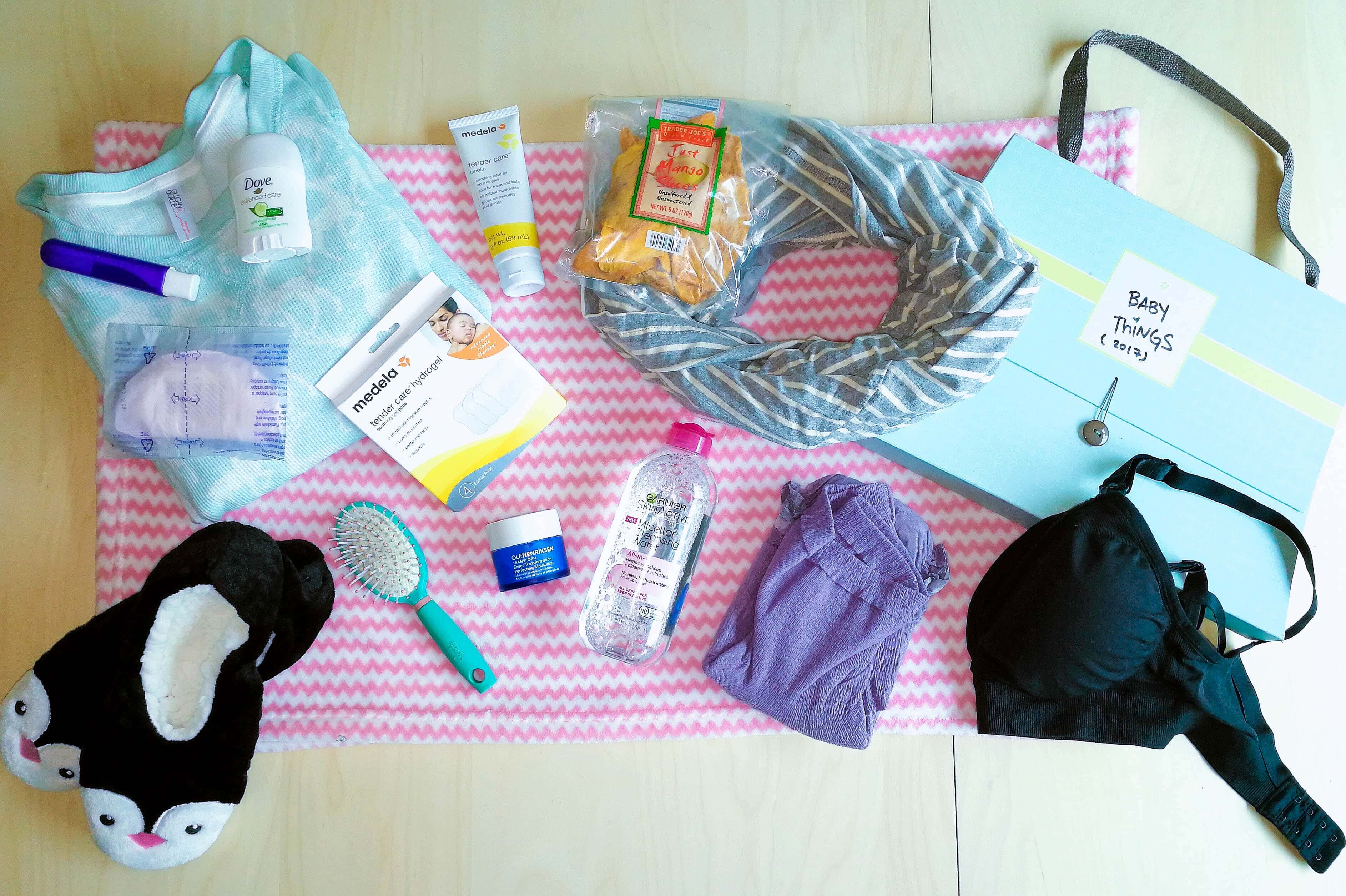 What To Pack Printable Hospital Bag Check Labor And Delivery